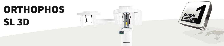 Thiết bị chuẩn đoán hình ảnh Orthophos SL 3D Banner