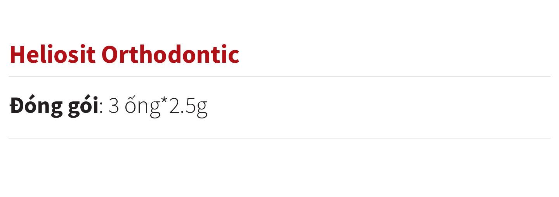 Heliosit Orthodonti content