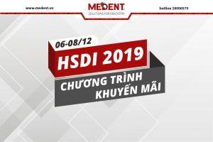 Chương trình khuyến mãi nha khoa - hội nghị HSDi 2019
