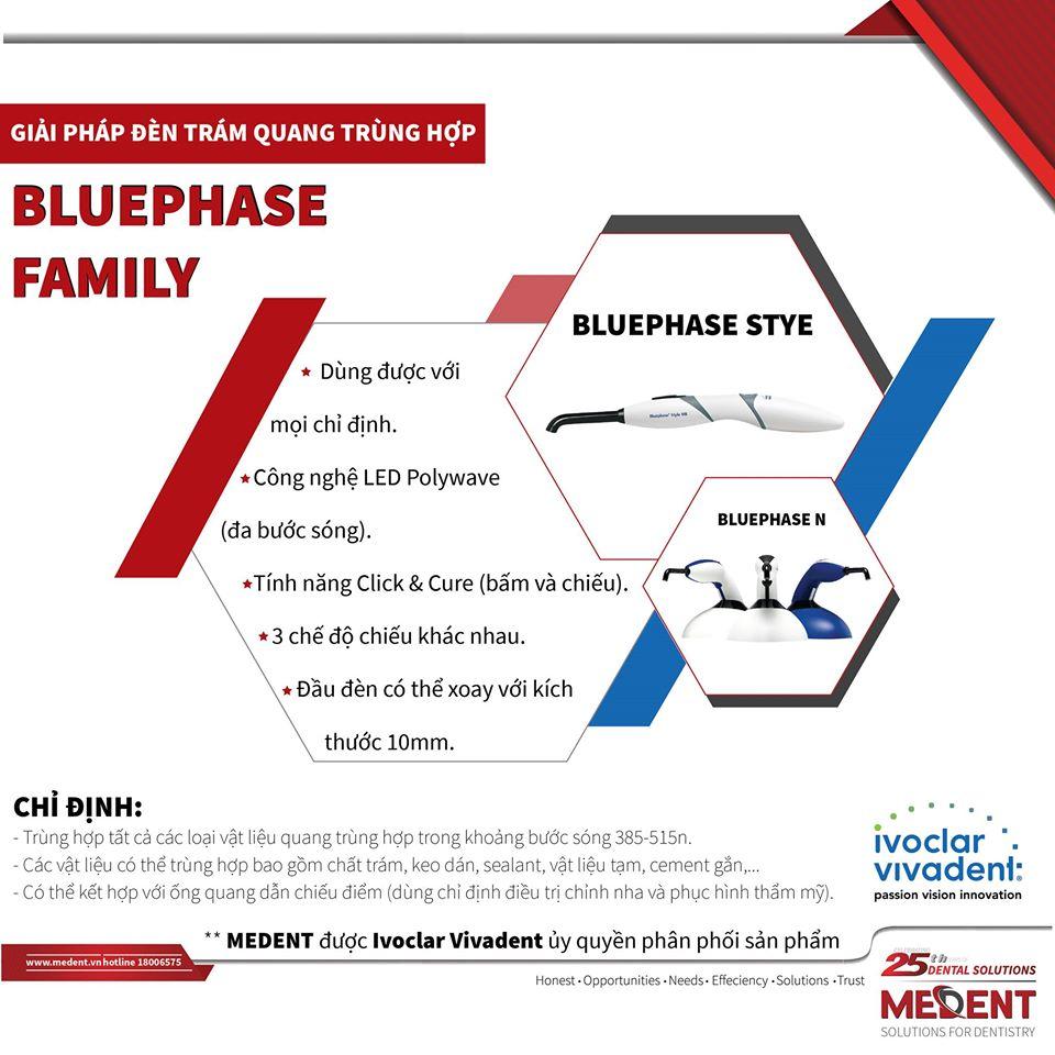 Đèn LED Quang Trùng Hợp Bluephase Style Bluephase N