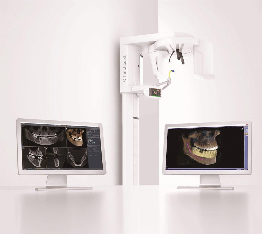 Giải pháp chẩn đoán hình ảnh Orthophos SL 3D