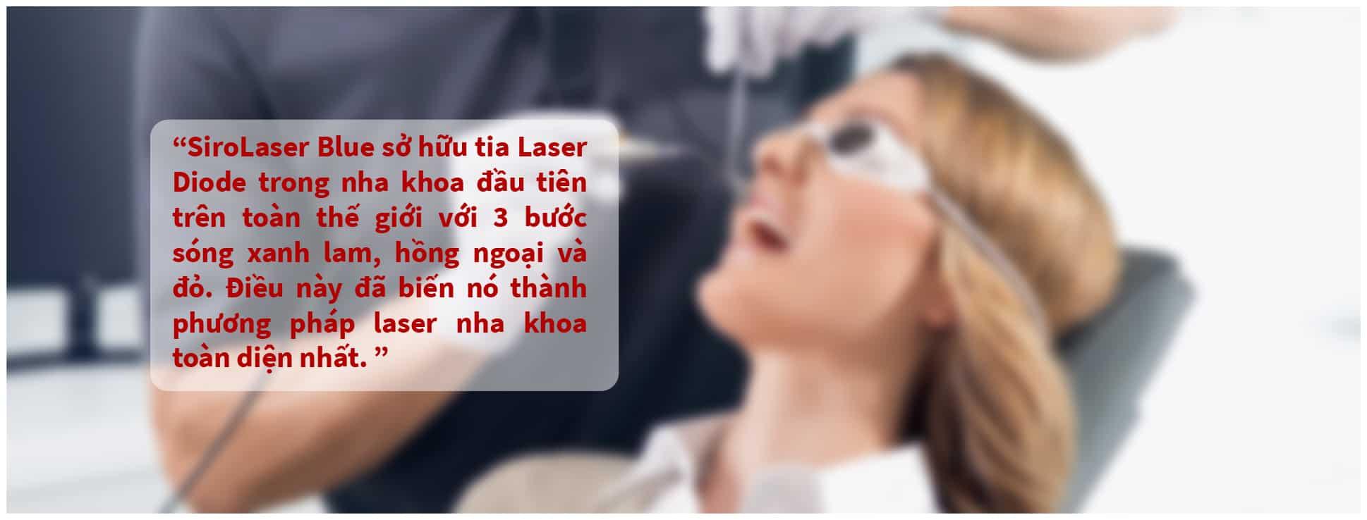 Máy Laser nha khoa SiroLaser Blue
